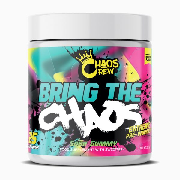 Bring the Chaos Sour Gummy Render
